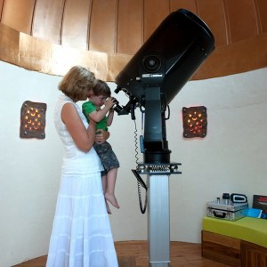 Observatory with Kid