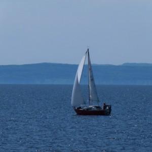 Voile sur le lac St Jean_© TourismeSagLac