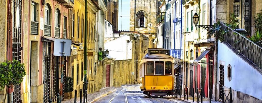 En tramway, Lisbonne !