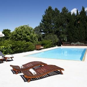 Bastide de Moustiers – piscine HD (c) David Bordes